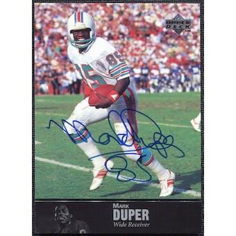 1997 Upper Deck Legends Autographs #AL55 Mark Duper