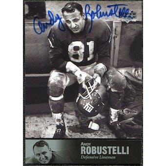 1997 Upper Deck Legends Autographs #AL60 Andy Robustelli