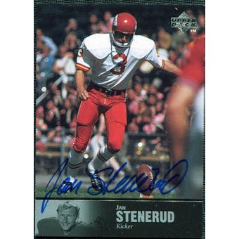 1997 Upper Deck Legends Autographs #AL64 Jan Stenerud