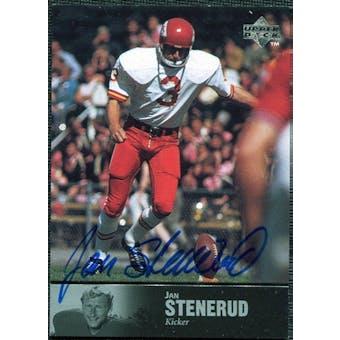 1997 Upper Deck Legends Autographs #AL64 Jan Stenerud
