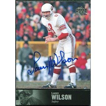 1997 Upper Deck Legends Autographs #AL70 Larry Wilson