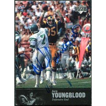 1997 Upper Deck Legends Autographs #AL73 Jack Youngblood
