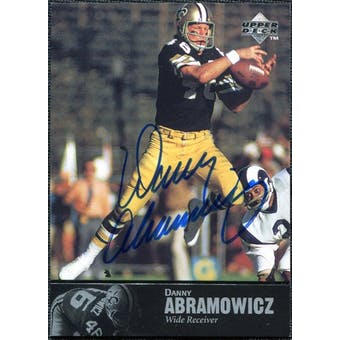 1997 Upper Deck Legends Autographs #AL74 Danny Abramowicz