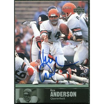 1997 Upper Deck Legends Autographs #AL76 Ken Anderson