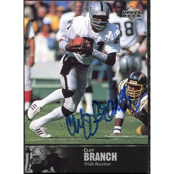 1997 Upper Deck Legends Autographs #AL80 Cliff Branch