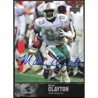 1997 Upper Deck Legends Autographs #AL90 Mark Clayton