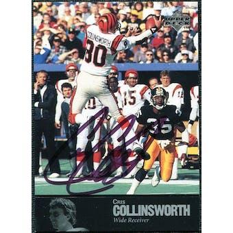 1997 Upper Deck Legends Autographs #AL91 Cris Collinsworth