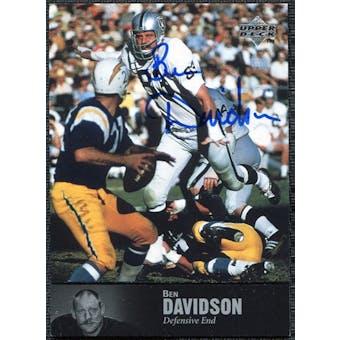 1997 Upper Deck Legends Autographs #AL96 Ben Davidson
