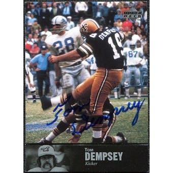 1997 Upper Deck Legends Autographs #AL98 Tom Dempsey