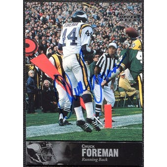 1997 Upper Deck Legends Autographs #AL103 Chuck Foreman