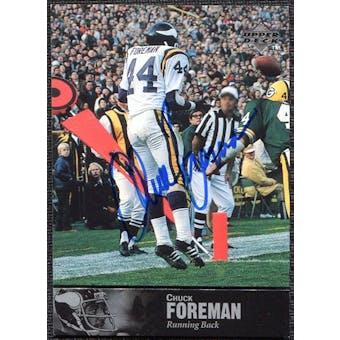 1997 Upper Deck Legends Autographs #AL103 Chuck Foreman