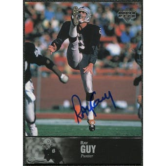 1997 Upper Deck Legends Autographs #AL111 Ray Guy