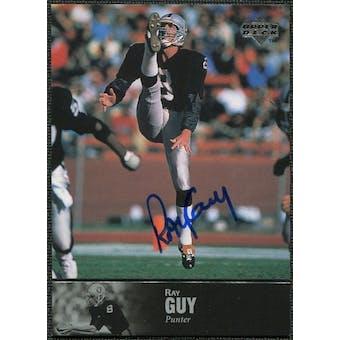 1997 Upper Deck Legends Autographs #AL111 Ray Guy