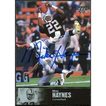 1997 Upper Deck Legends Autographs #AL115 Mike Haynes