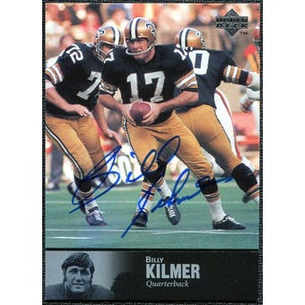 1997 Upper Deck Legends Autographs #AL126 Billy Kilmer