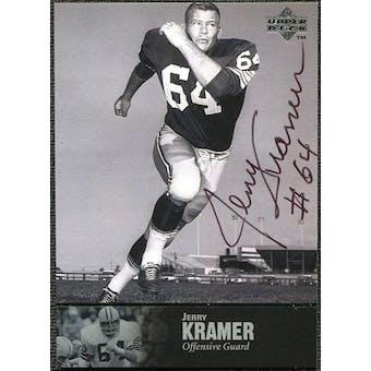 1997 Upper Deck Legends Autographs #AL127 Jerry Kramer