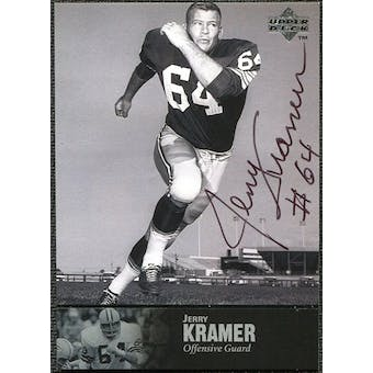 1997 Upper Deck Legends Autographs #AL127 Jerry Kramer