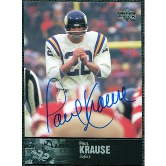 1997 Upper Deck Legends Autographs #AL128 Paul Krause