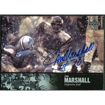 1997 Upper Deck Legends Autographs #AL134 Jim Marshall
