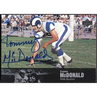 1997 Upper Deck Legends Autographs #AL136 Tommy McDonald