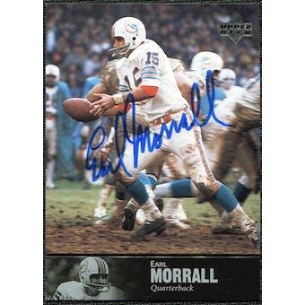 1997 Upper Deck Legends Autographs #AL143 Earl Morrall