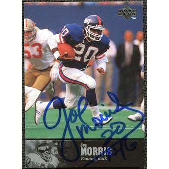 1997 Upper Deck Legends Autographs #AL146 Joe Morris
