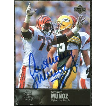 1997 Upper Deck Legends Autographs #AL150 Anthony Munoz