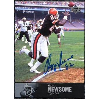 1997 Upper Deck Legends Autographs #AL154 Ozzie Newsome