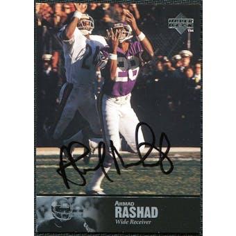 1997 Upper Deck Legends Autographs #AL158 Ahmad Rashad