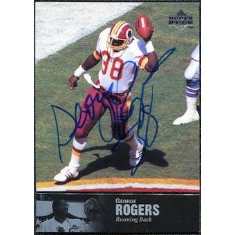1997 Upper Deck Legends Autographs #AL159 George Rogers