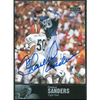 1997 Upper Deck Legends Autographs #AL164 Charlie Sanders