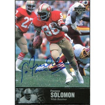 1997 Upper Deck Legends Autographs #AL167 Freddie Solomon