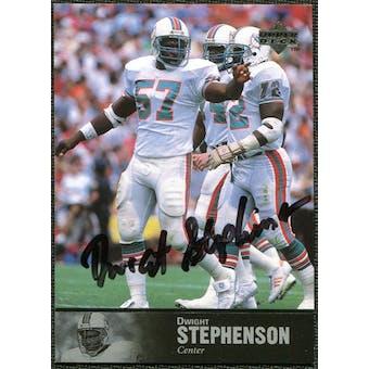 1997 Upper Deck Legends Autographs #AL169 Dwight Stephenson