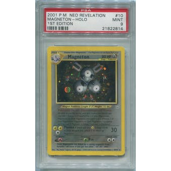 Pokemon Neo Revelation Magneton 10/64 PSA 9