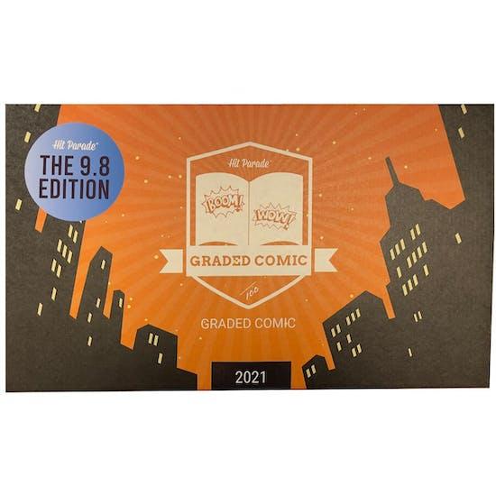 2021 Hit Parade 9.8 Graded Comic Edition Series 4- 1-Box- DACW Live 5 Spot Break #3