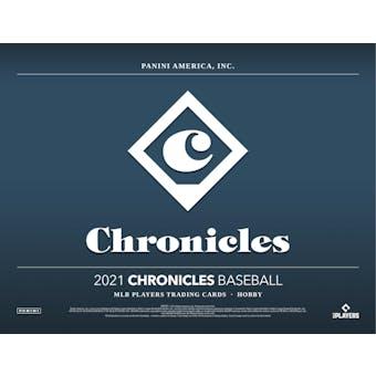 2021 Panini Chronicles Baseball Hobby Box (Presell)