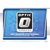 2021 Panini Donruss Optic Baseball Hobby 12-Box Case (Presell)