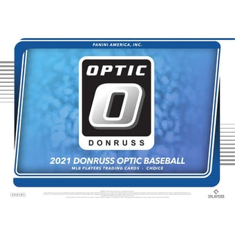 2021 Panini Donruss Optic Baseball Hobby Choice Box (Presell)