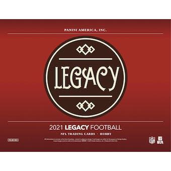 2021 Panini Legacy Football Hobby Box (Presell)