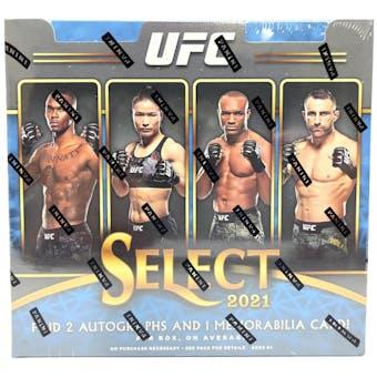 2021 Panini UFC Select Hobby Box