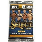 2021 Panini UFC Select Hobby Pack