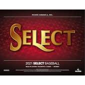 2021 Panini Select Baseball Hobby 12-Box Case (Presell)