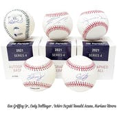 2021 Hit Parade Autographed Baseball Hobby Box - Series 4 - Griffey Jr., Acuna Jr., Bellinger & Tatis Jr!!!