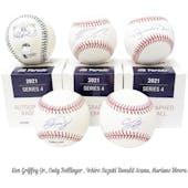 2021 Hit Parade Autographed Baseball Hobby Box - Series 4 - Griffey Jr., Acuna Jr., Bellinger & Tatis Jr!!!