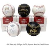 2021 Hit Parade Autographed Baseball 1-Box Ser 5- DACW Live 6 Spot Random Division Break #3