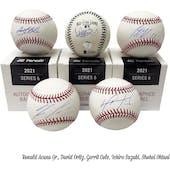 2021 Hit Parade Autographed Baseball Hobby Box - Series 6 - S. Ohtani, H. Aaron, A. Judge, & Guerrero Jr.!!