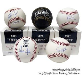 2021 Hit Parade Autographed Baseball Hobby Box - Series 8 - Griffey Jr., Ohtani, Judge, Guerrero Jr. & Aaron!!