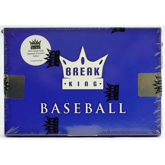 2021 Break King Baseball Premium Hobby Box