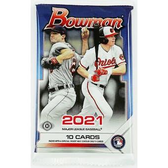 2021 Bowman Baseball Hobby Pack