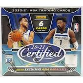 2020/21 Panini Certified Asia Tmall Edition Basketball Box